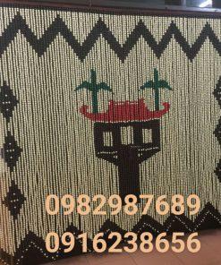 Rèm hạt gỗ chùa một cột K2