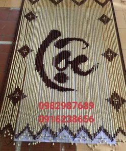 Rèm hạt gỗ bồ đề chữ Lộc